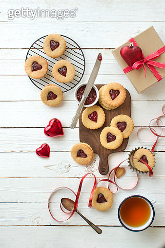 Valentine's day or Mother's day food and drink concept image. - gettyimageskorea