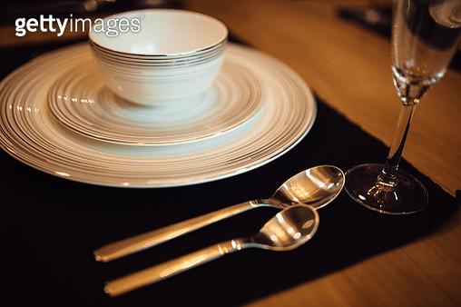Table setting for celebration. - gettyimageskorea