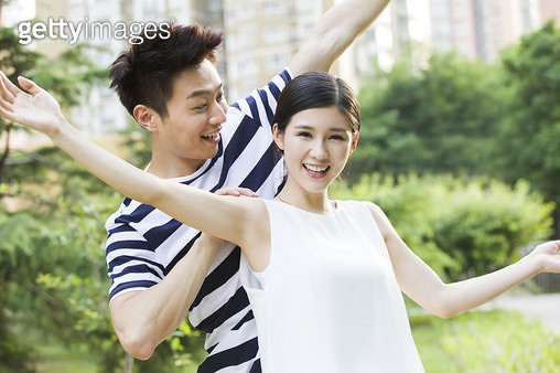 Happy young couple - gettyimageskorea