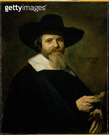 <b>Title</b> : Dutch Burgher, 1643 (oil on canvas)<br><b>Medium</b> : <br><b>Location</b> : The Barnes Foundation, Merion, Pennsylvania, USA<br> - gettyimageskorea