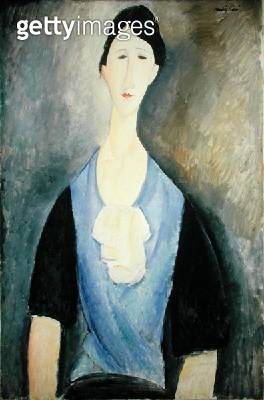 <b>Title</b> : Woman in Blue (oil on canvas)<br><b>Medium</b> : oil on canvas<br><b>Location</b> : The Barnes Foundation, Merion, Pennsylvania, USA<br> - gettyimageskorea