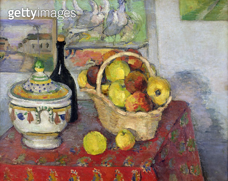 <b>Title</b> : Still Life with Tureen, c.1877 (oil on canvas)<br><b>Medium</b> : oil on canvas<br><b>Location</b> : Musee d'Orsay, Paris, France<br> - gettyimageskorea