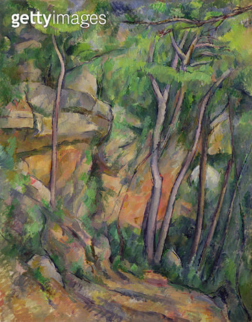 <b>Title</b> : In the Park of Chateau Noir, c.1896-99 (oil on canvas)<br><b>Medium</b> : oil on canvas<br><b>Location</b> : Musee de l'Orangerie, Paris, France<br> - gettyimageskorea