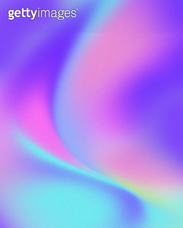 Trendy colorful Holographic abstract background - gettyimageskorea