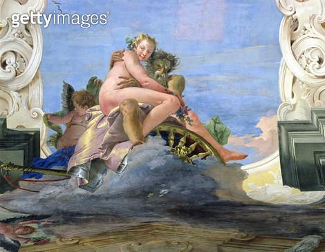 Pluto Raping Proserpine (fresco) - gettyimageskorea