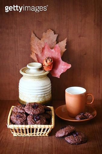 Yummy Homemade Gluten-Free Chocolate Cookies - gettyimageskorea