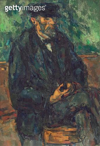 <b>Title</b> : The Gardener Vallier, c.1905 (oil on canvas)<br><b>Medium</b> : oil on canvas<br><b>Location</b> : National Gallery of Art, Washington DC, USA<br> - gettyimageskorea