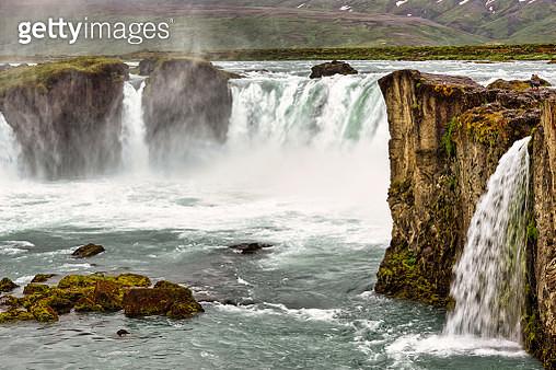 Godafoss waterfall. Iceland - gettyimageskorea