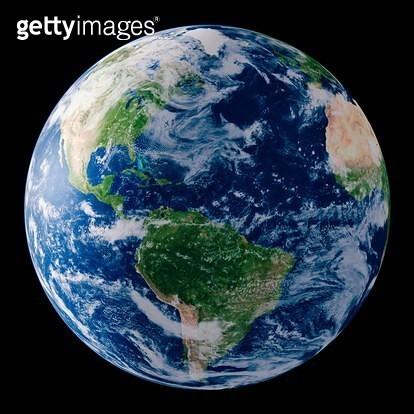 Digital Illustration of the Planet Earth - gettyimageskorea
