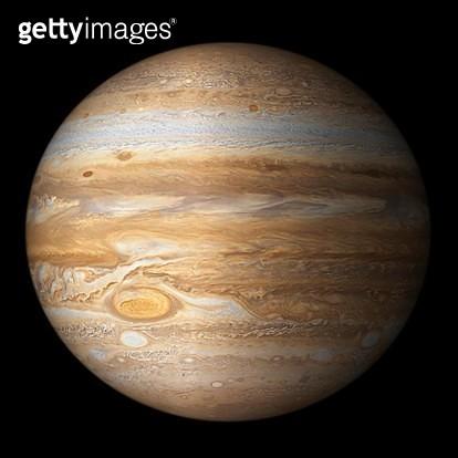 Digital Illustration of the Planet Jupiter - gettyimageskorea