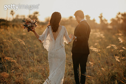 Bride and Groom - gettyimageskorea