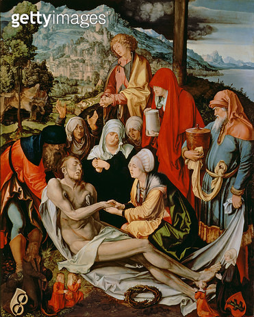 <b>Title</b> : Mourning of the Dead Christ<br><b>Medium</b> : <br><b>Location</b> : Alte Pinakothek, Munich, Germany<br> - gettyimageskorea