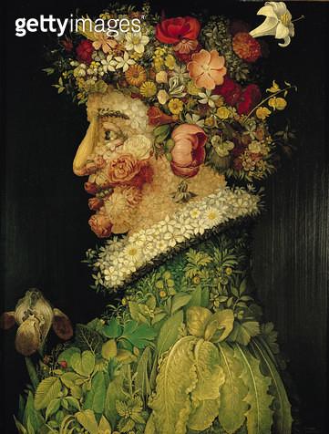 <b>Title</b> : Spring, (oil on canvas)<br><b>Medium</b> : oil on canvas<br><b>Location</b> : Real Academia de Bellas Artes de San Fernando, Madrid, Spain<br> - gettyimageskorea