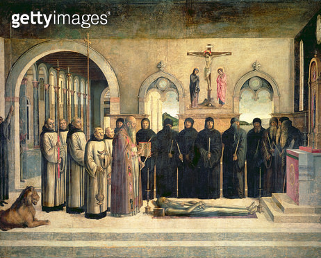 <b>Title</b> : The Funeral of St. Jerome<br><b>Medium</b> : <br><b>Location</b> : <br> - gettyimageskorea