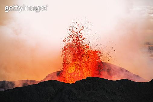 Volcano Eruption, Holuhraun, Bardarbunga, Iceland - gettyimageskorea
