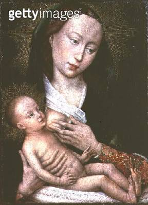 <b>Title</b> : Madonna and Child<br><b>Medium</b> : <br><b>Location</b> : Musee des Beaux-Arts, Tournai, Belgium<br> - gettyimageskorea