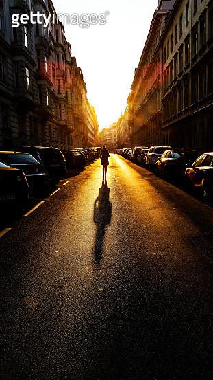 Street back light - gettyimageskorea