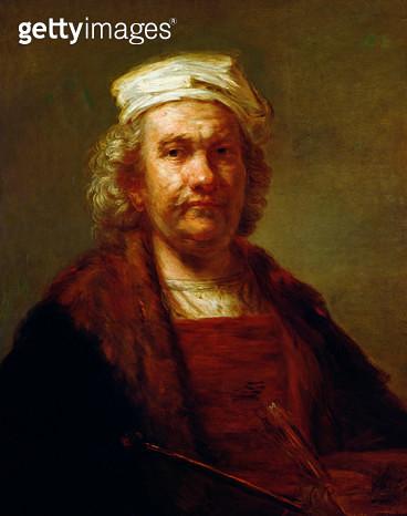 <b>Title</b> : Self Portrait, c.1660-63 (oil on canvas)<br><b>Medium</b> : oil on canvas<br><b>Location</b> : Prado, Madrid, Spain<br> - gettyimageskorea