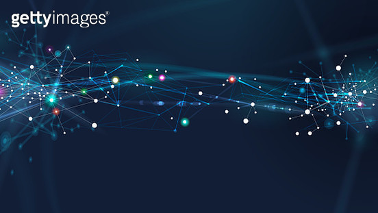 Abstract Network Background - gettyimageskorea