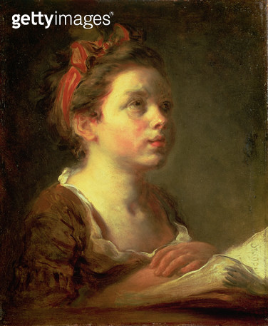 <b>Title</b> : A Young Scholar, c.1775-78 (oil on canvas)<br><b>Medium</b> : oil on canvas<br><b>Location</b> : Wallace Collection, London, UK<br> - gettyimageskorea