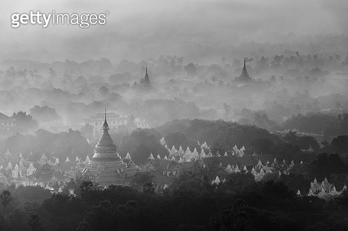 View from Mandalay Hill (Myanmar) - gettyimageskorea