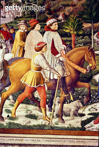 The Life of St. Augustine (fresco) (detail) - gettyimageskorea