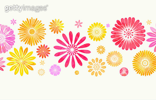 Floral Background - gettyimageskorea