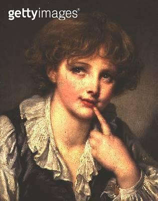 <b>Title</b> : Head of a Boy (Espieglerie) c.1782 (oil on canvas)<br><b>Medium</b> : oil on canvas<br><b>Location</b> : Wallace Collection, London, UK<br> - gettyimageskorea