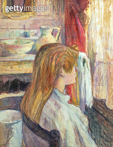 <b>Title</b> : Woman at the Window, 1893 (oil on canvas)<br><b>Medium</b> : oil on canvas<br><b>Location</b> : Musee Toulouse-Lautrec, Albi, France<br> - gettyimageskorea