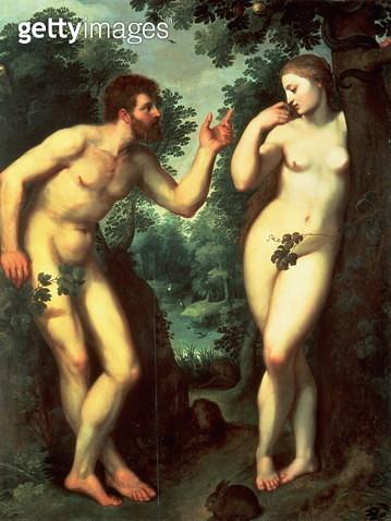 Adam and Eve - gettyimageskorea
