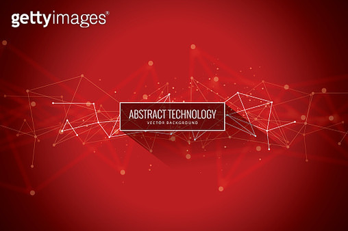 Data, Geometric Shape, Big Data, Circle, Connection, Red - gettyimageskorea