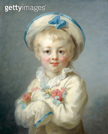 <b>Title</b> : A Boy as Pierrot, c.1780 (oil on canvas)<br><b>Medium</b> : oil on canvas<br><b>Location</b> : Wallace Collection, London, UK<br> - gettyimageskorea