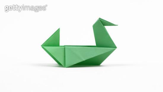 Origami Duck - gettyimageskorea
