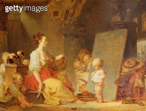 <b>Title</b> : 'Say Please', c.1780 (oil on canvas)Additional InfoDites donc s'il vous plait;<br><b>Medium</b> : oil on canvas<br><b>Location</b> : Wallace Collection, London, UK<br> - gettyimageskorea