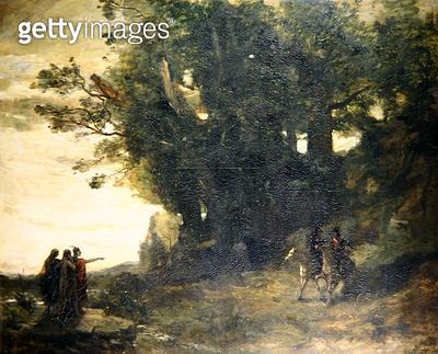 <b>Title</b> : Macbeth and the Witches, 1858-59 (oil on canvas)<br><b>Medium</b> : oil on canvas<br><b>Location</b> : Wallace Collection, London, UK<br> - gettyimageskorea