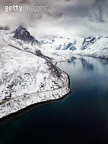 Amazing Fjords aerial view in Norway - gettyimageskorea