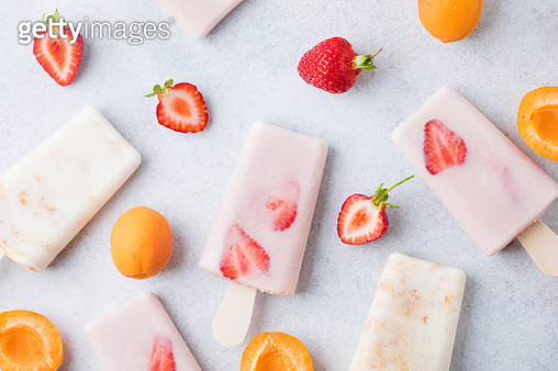 Ice Cream Popsicle - gettyimageskorea