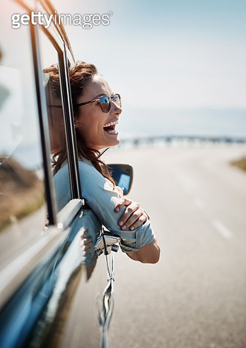 Road trips put me in a happy mood - gettyimageskorea