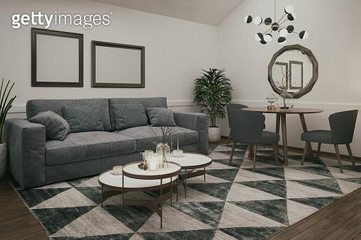 Domestic living room - gettyimageskorea