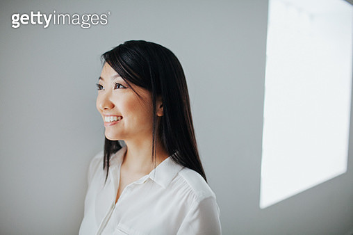 Portrait of young businesswoman - gettyimageskorea