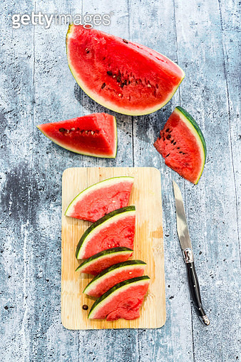 Slices of watermelon - gettyimageskorea