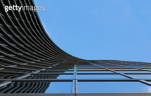 Abstract building curve. - gettyimageskorea