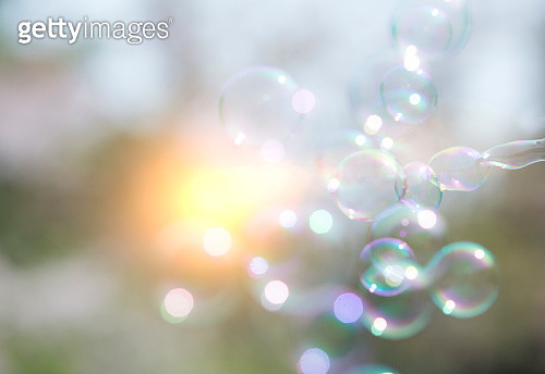 abstract view of bubble,material for desingers - gettyimageskorea