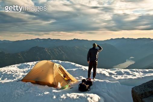 Summit camping - gettyimageskorea