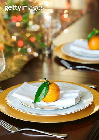 Christmas table setting - gettyimageskorea