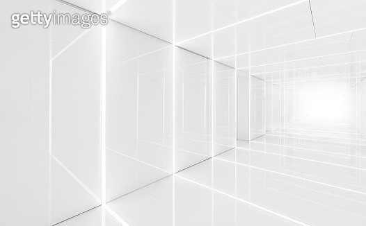 3D Abstract Architecture Background - gettyimageskorea