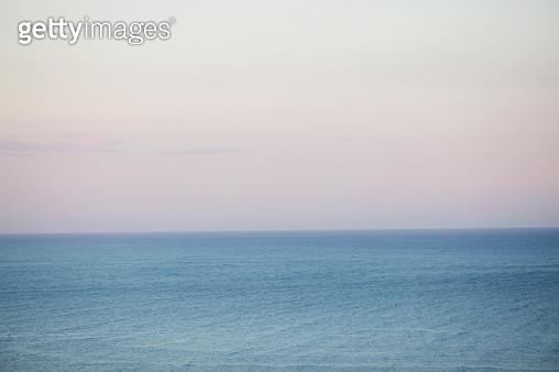 Open sea at sunset - gettyimageskorea