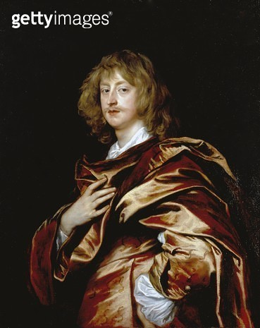 George/ Lord Digby/ later 2nd Earl of Bristol/ c.1638-39 (oil on canvas) - gettyimageskorea
