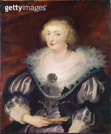 <b>Title</b> : Catherine Manners, Duchess of Buckingham, c.1629 (panel)<br><b>Medium</b> : oil on panel<br><b>Location</b> : Dulwich Picture Gallery, London, UK<br> - gettyimageskorea