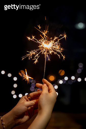Holding the fireworks - gettyimageskorea